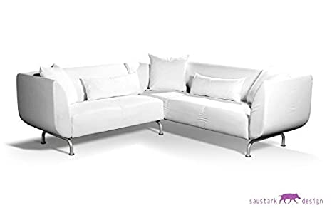 Polialgodón blanco Funda para 3 + 2 plazas IKEA integrantes ...