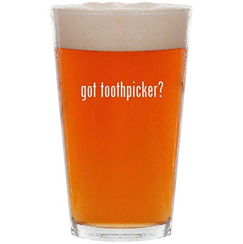 got toothpicker? - 16oz All Purpose Pint Beer Glass