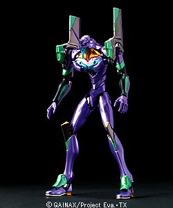 Evangelion Eva 01 Test Type - Bandai Hobby Model HG EVA-01 Evangelion Test Type Extra Finish