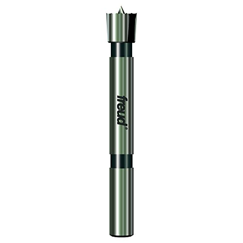 Freud Precision Shear Serrated Edge Forstner Drill Bit 1/2-Inch by 1/4-Inch Shank ()