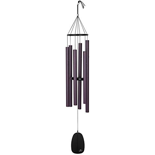Woodstock Chimes BPLBU Bells of Paradise Wind Chime, Burgundy