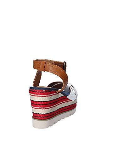 Gold A18 JB818 Wedge Sandals Women White KZ8Cfuu