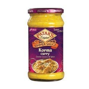 Pataks Korma Curry Sauce 15Oz. (Pack of 4)