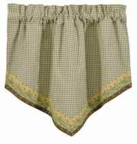 (Park Designs 'Peaceful Cottage' Point Valance)