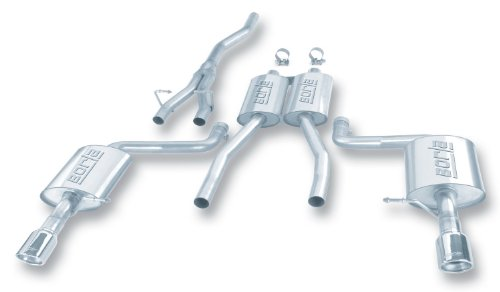 Audi Exhaust Aftermarket (Borla 140100 Cat-Back System Exhaust)