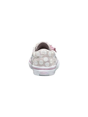 SCARPE BAMBINO VANS OLD SKOOL ZIP (POLKA DOT) VA38EFMMY (26 - WIND CHIME)