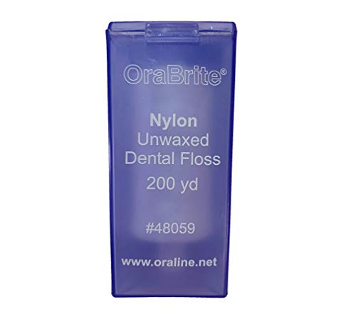 WDS Dental Nylon Unwaxed Dental Floss 200 Yard (1 Pack)