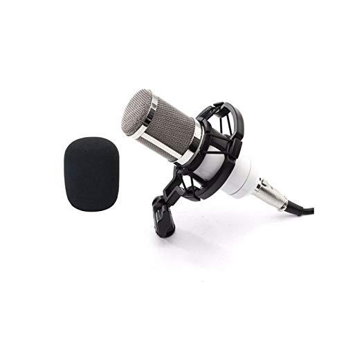 Baoer BM800 Home Microphone KTV Computer Sound Recording Condenser Microphone Pink
