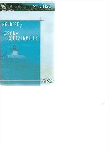 En ligne Meurtre a Agon-Coutainville pdf
