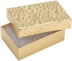 Bulk Buy: Darice Jewelry Boxes 3in. x 2 1/8in. x 1in. 6/Pkg