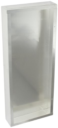 BUD Industries AC-1416 Aluminum Chassis, 17'' Length x 7'' Width x 2'' Height, Natural Finish by BUD Industries