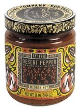 Salsa Pepper Desert Roasted (Desert Pepper Roasted Tomato Chipotle Corn Salsa, 16 Oz - 6 Per Case.)