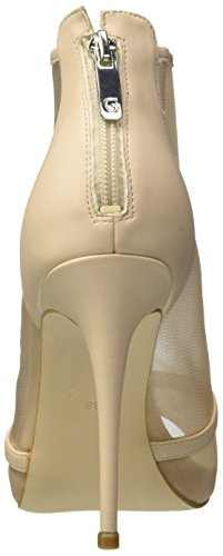 Guess Footwear Dress Shootie, Scarpe Col Tacco Punta Aperta Donna Avorio (Ivory)
