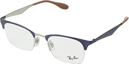 Ray-Ban Unisex 0RX6360 49mm Silver/Violet One - Ban Arms Ray