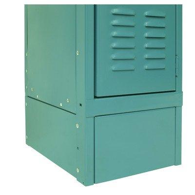 Closed Side Base Color: Marine Blue, Size: 15