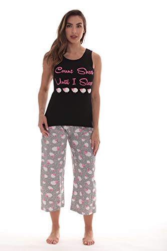 Just Love Womens Pajamas Cotton Capri Set 6329-10255-2X