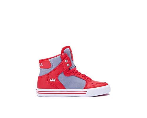 Supra SKYTOP S18185 Herren Sneaker Red/Dark Grey/White