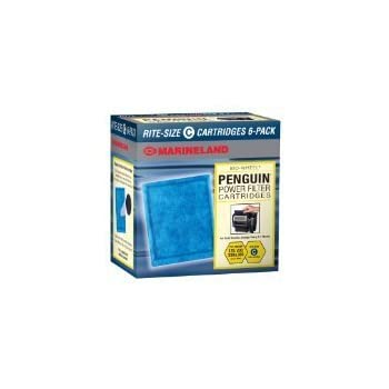 Rite-Size Penguin Power Filter Cartridge Size C, 6-Pack
