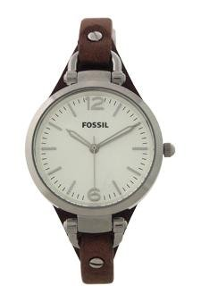 Fossil-Es3060p-Georgia-Brown-Leather-Watch-Watch-For-Women