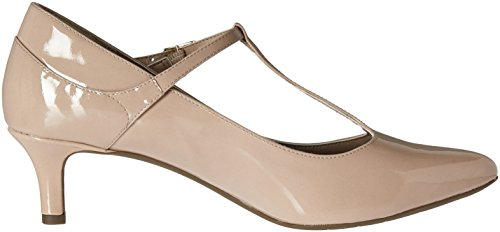 Womens Patent Kalila Strap ROCKPORT Taupe Motion Strap Total Motion T Kalila Total T Warm dyqTqM8O