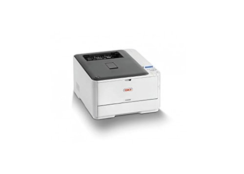 - OKI 62447501 C 332dn Workgroup Printer Gray/White