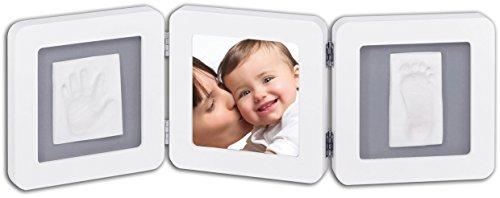 Baby-Art-Double-Print-Frame-Marco-triple-para-fotos-y-huellas-de-mano-o-pie