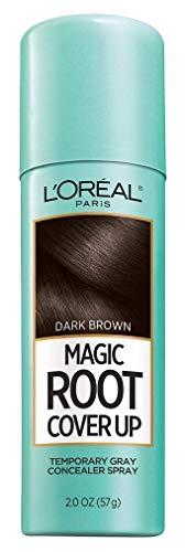 LOreal Paris Root Cover Up Temporary Gray Concealer Spray, Dark Brown 2 oz (Pack of 3)