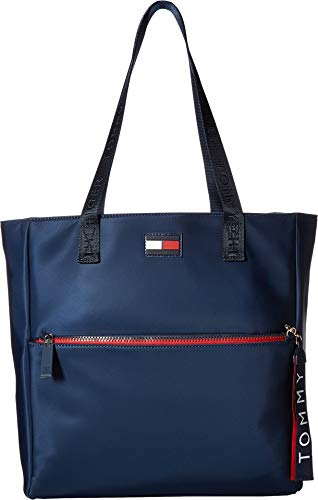 Tommy Hilfiger Women's Leah Tote Tommy Navy One Size ()