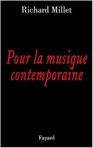 Livre Pour la musique contemporaine : Chroniques discographiques pdf, epub ebook
