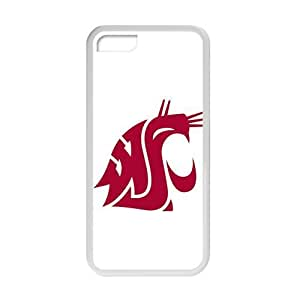 NCAA Washington State Cougars White For SamSung Galaxy S5 Mini Phone Case Cover