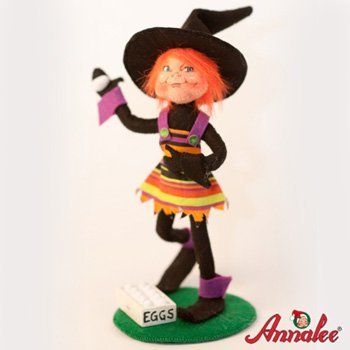 Amazon.de: 2011 Retired Annalee Puppen 17, 8 cm Egging Elf Trickster ...