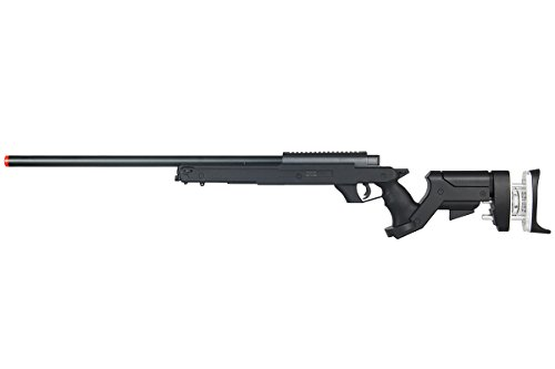Well Full Metal MBG25 Gas Sniper Rifle Airsoft Gun (Black) - Rifle Gas