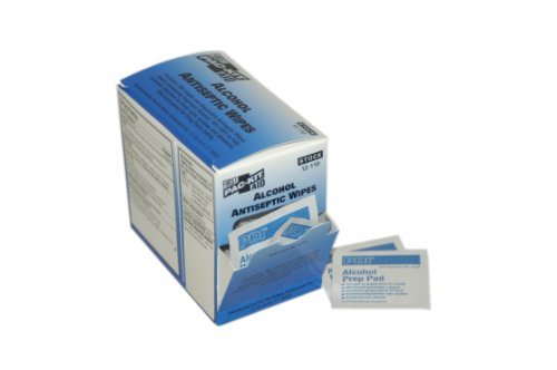 Pac-Kit by First Aid Only 12-110 Alcohol Antiseptic Wipe (Box of 100) (Refill First Kit Aid)