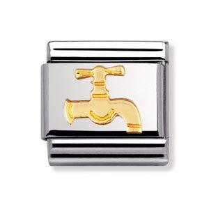 Price comparison product image Original Nomination Gold Faucet Charm