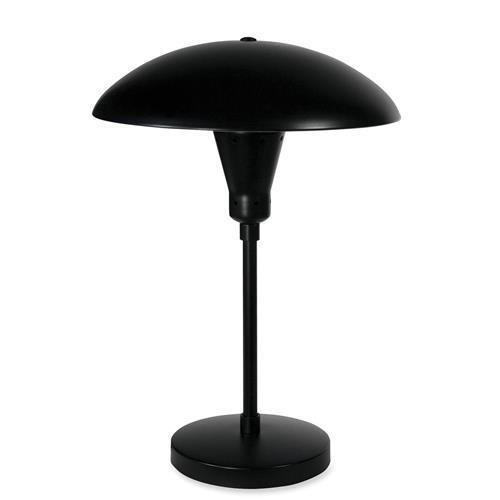 L9025 Ledu Illuminator Desk Lamp - 60 W Incandescent Bulb - Weighted Base - Circle - Desk Mountable - Black by Ledu