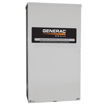(- Generac RTS Automatic Generator Transfer Switch - 200 Amp, 120/208 Volts, 3 Phase, Type N, Model# RTS-N-200G3)