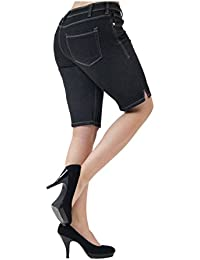 Women's Perfectly Shaping Stretchy Denim Bermuda Short
