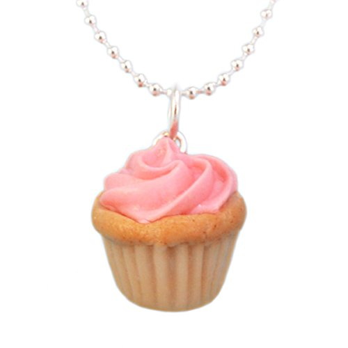 - Tiny Hands Women's Scented Birthday Cupcake Necklace