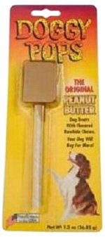 James Valley Doggy Pops, Peanut Butter, Single Pack, 1.3 (Doggy Pops Bacon)