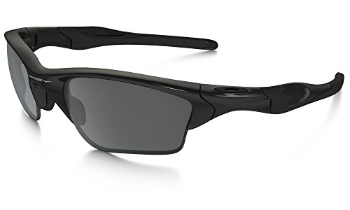 Oakley Half Jacket 2.0 XL Sunglasses Polished BLK / BLK Irid. & Care Kit - 2.0 Jacket Half Oakley Xl