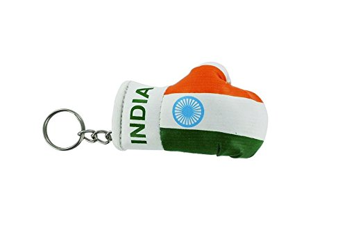 Akacha Schl/üsselanh/änger Indien Boxhandschuh Flagge Flag Jahrhundert Schl/üssel Schl/üssel indischen