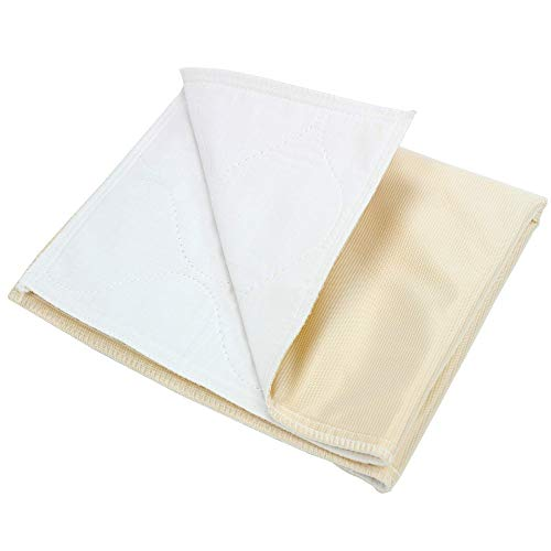 Mattress Protector Waterproof Luxurious - Pivit Antibacterial Extra-Absorbent Odor Eliminating Waterproof Bed Pads | 32