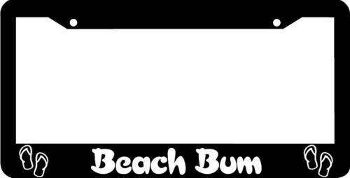 beach bum license plate frame - 2