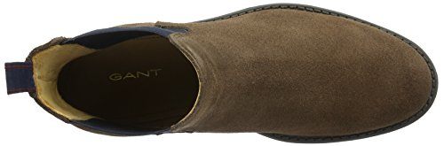Gant Oscar, Stivali Chelsea Uomo Marrone (Braun (Dark Brown G46))