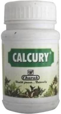 Charak Calcury 40tablets for Urolithiasis Removes Kidney Stones Without Surgery