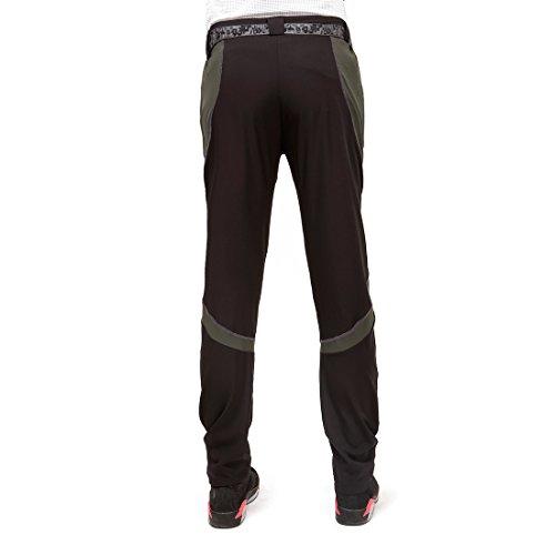 Su001 grigio Sportswear Asciugano Pantaloni Sukutu Escursioni Nero Montagna In Impermeabili Leggeri Si Traspiranti Velocemente Per nSawxT