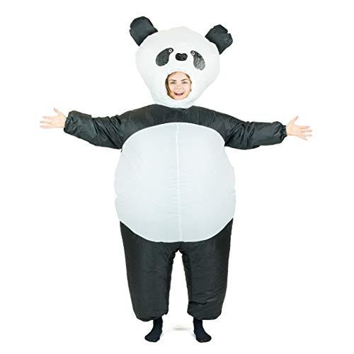 Bodysocks Adult Inflatable Panda Fancy Dress