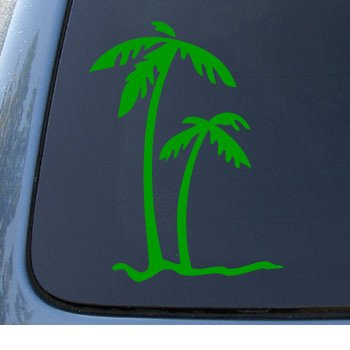 PALM TREES Tropical Notebook Sticker