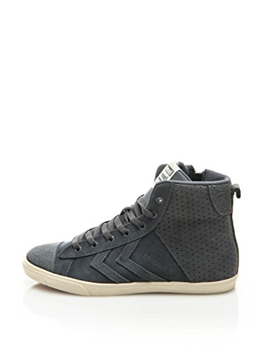 Hummel Leder-Sneaker Slim Stadil Strada HG Castlerock Grau