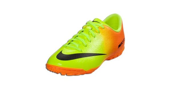 new concept 3943d 4eb8b Amazon.com: Nike Junior Mercurial Victory IV Turf (3 ...